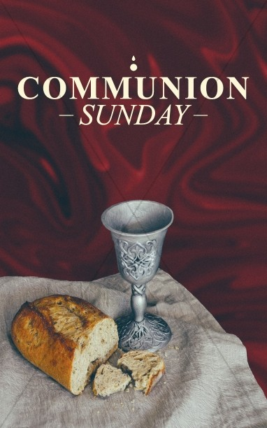 Communion Sunday Service Bulletin