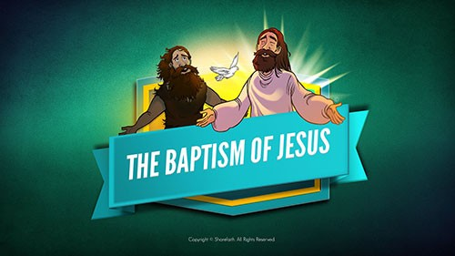 Matthew 3 The Baptism of Jesus Bible Video for Kids