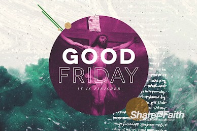 Good Friday Service Bumper Motion Graphic