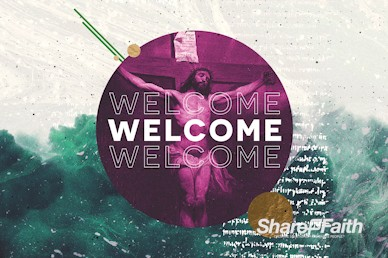 Good Friday Service Welcome Motion Graphic