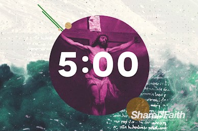 Good Friday Service Countdown Motion Graphic