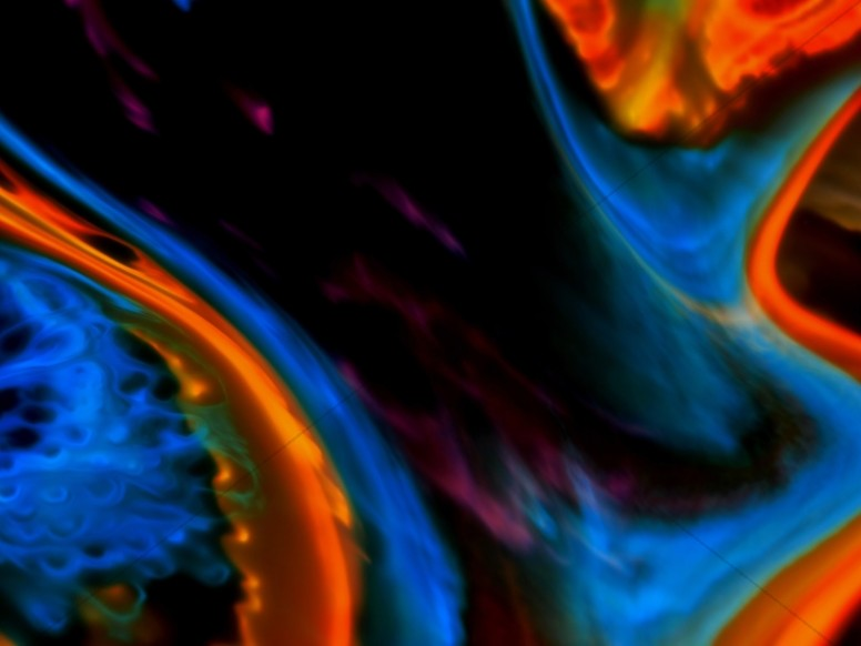 Abstract Galaxy Liquid Worship Background