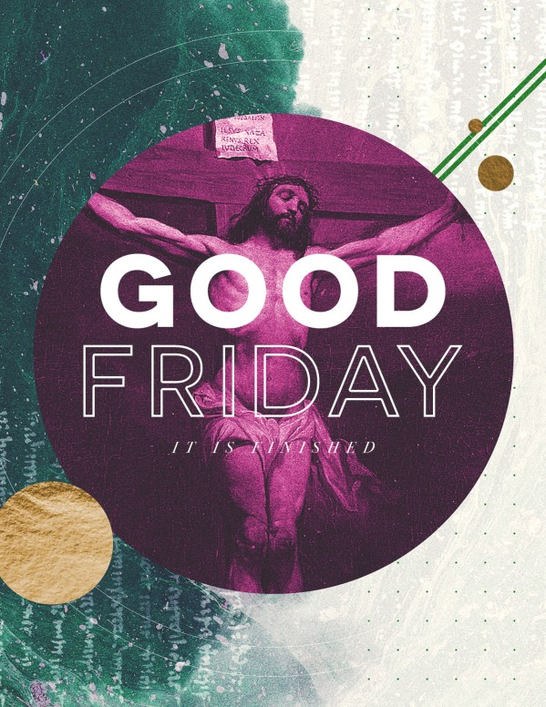 Good Friday Church Service Flyer