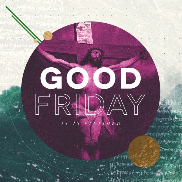 Good Friday Church Service Social Graphic