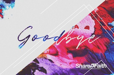 Easter Love Has Come Goodbye Motion Graphic