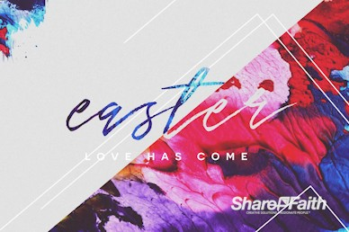 Easter Love Has Come Service Motion Graphic