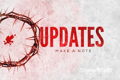 Crown of Thorns Good Friday Announcements Video