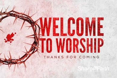 Crown of Thorns Good Friday Church Welcome Video