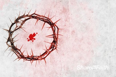 Crown of Thorns Good Friday Motion Background