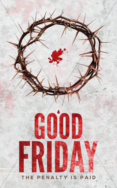 Crown of Thorns Good Friday Church Bulletin