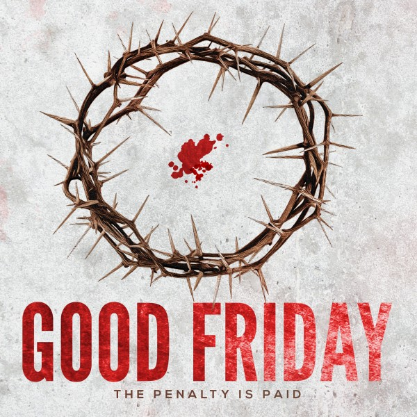Crown of Thorns Good Friday Social Media Graphic