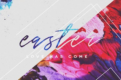 Easter Love Has Come Sermon Bumper Video
