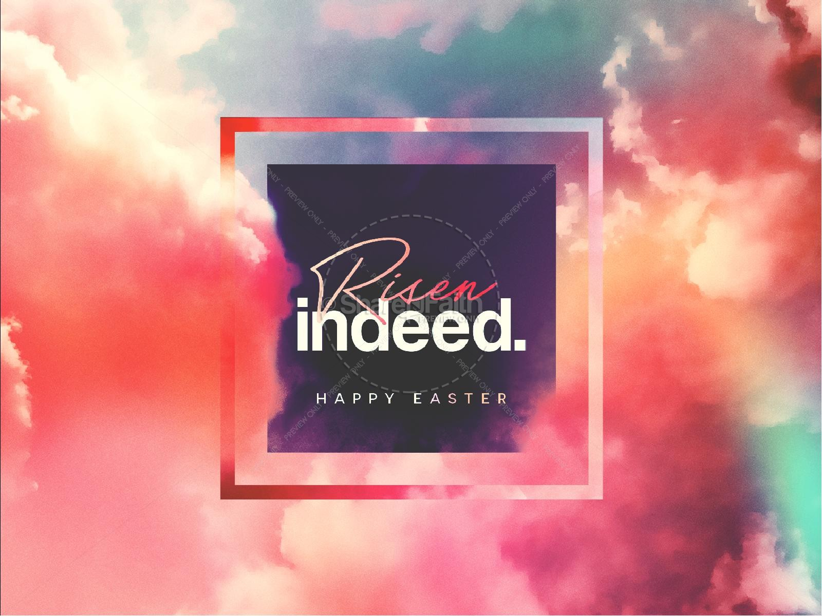 Risen Indeed Easter Sermon Graphic