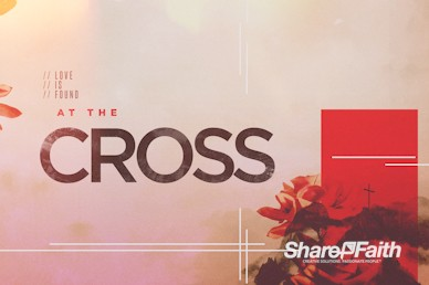 At The Cross Church Service Motion Graphic