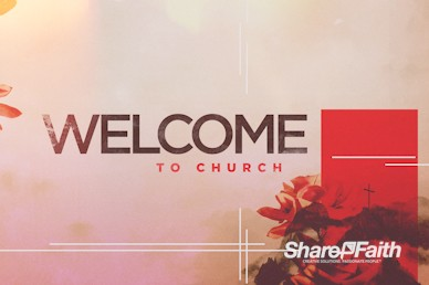 At The Cross Church Welcome Motion Graphic