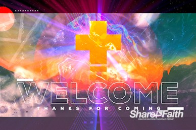 Freedom Through Christ Welcome Motion Graphic