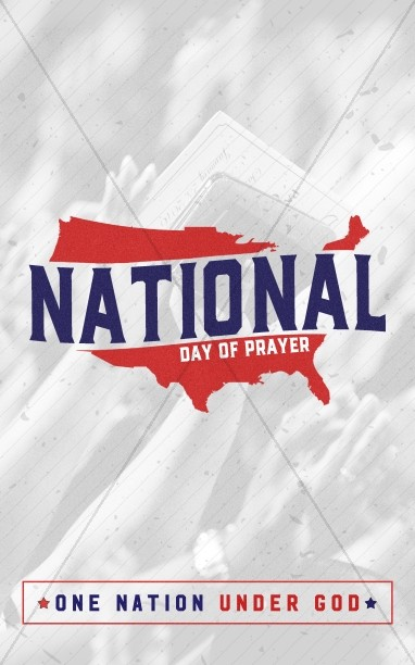American National Day of Prayer Bulletin Cover