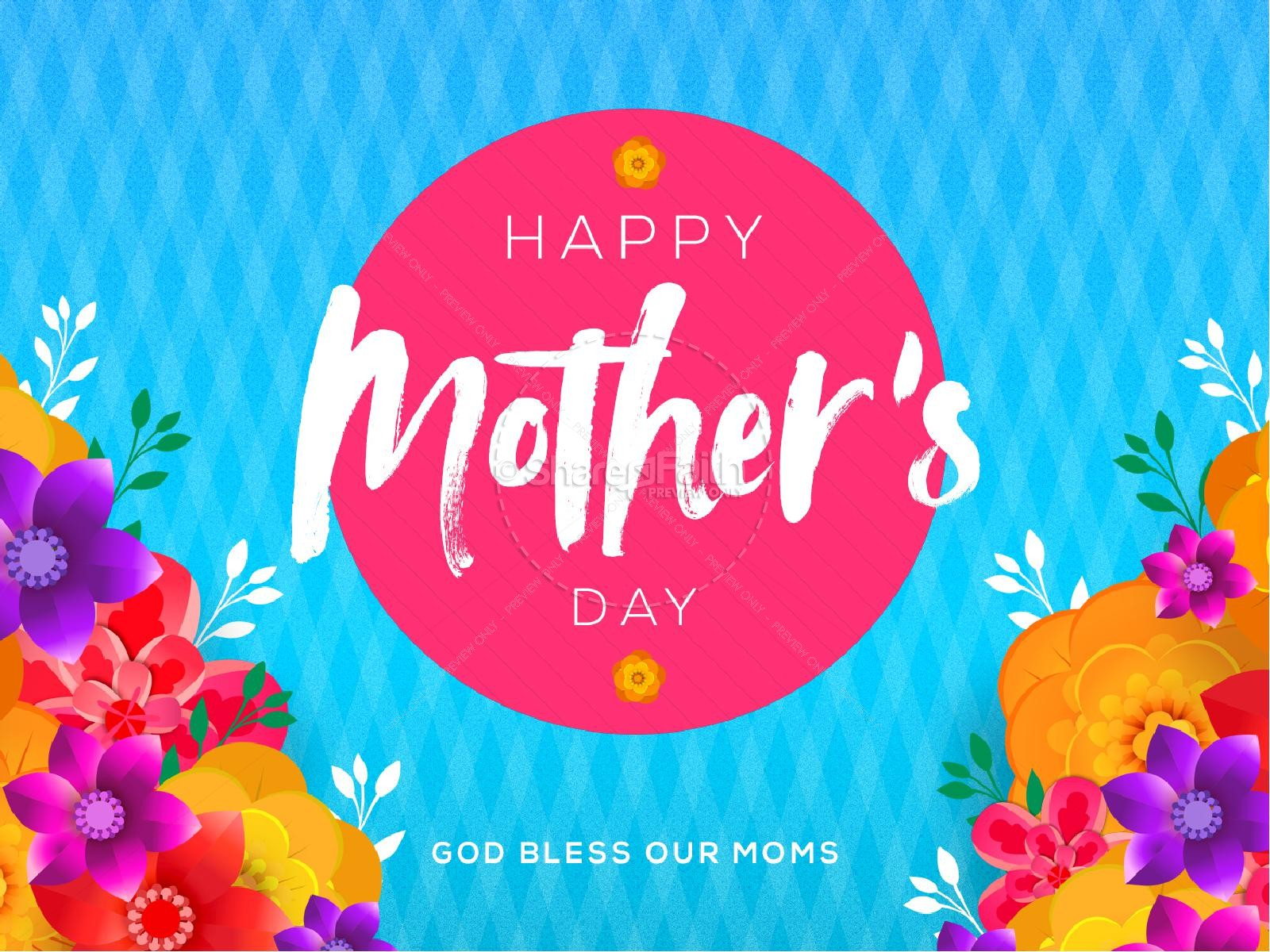 Happy Mother's Day Flowers Service Graphic