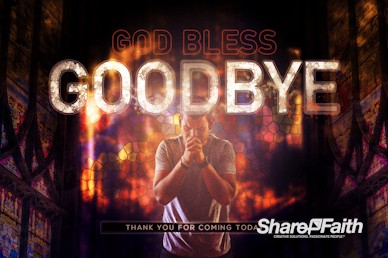 Dangerous Prayers Goodbye Motion Graphic