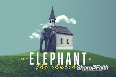 The Elephant In The Church Service Video Loop