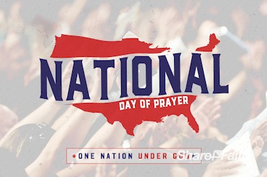 American National Day of Prayer Church Motion Graphic