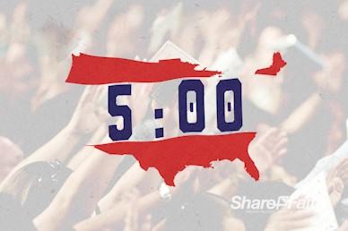 American National Day of Prayer Church Countdown