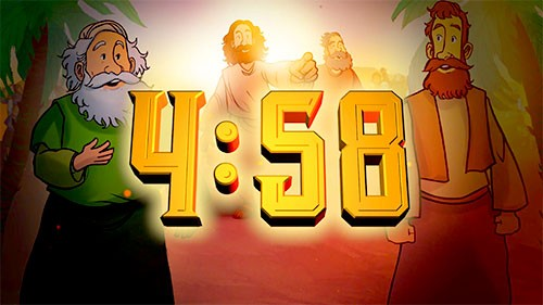 Luke 19 The Triumphal Entry Bible Countdown Video for Kids