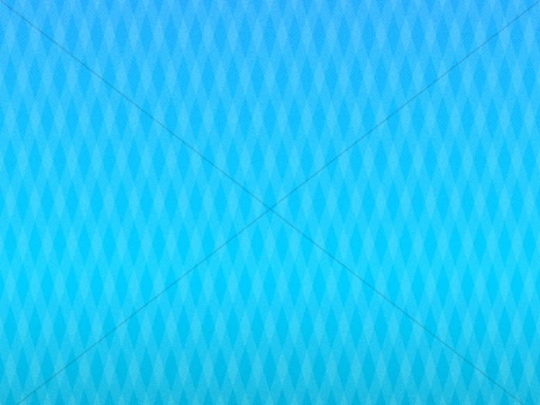Blue Diamond Pattern Worship Background