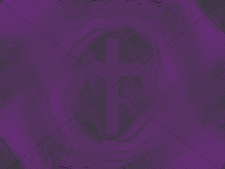 Amethyst Cross Colorful Texture Worship Background