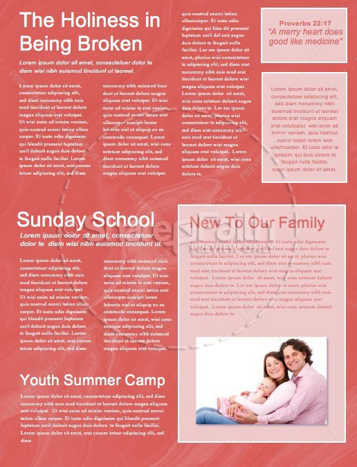 Mom Wow Mother's Day Service Newsletter