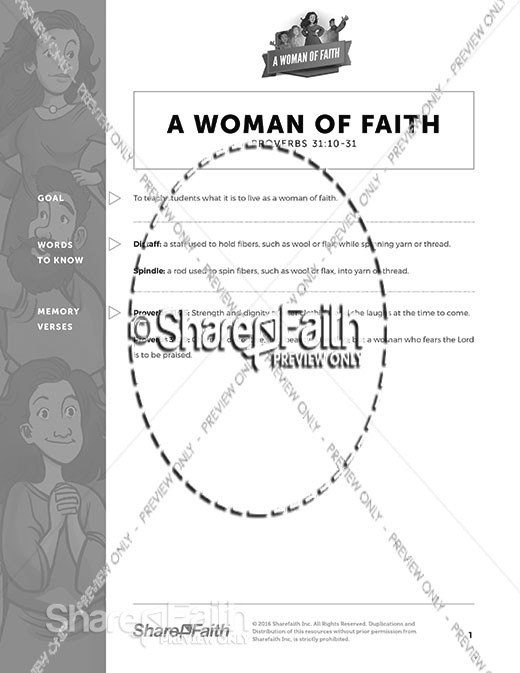 Proverbs 31 A Woman of Faith Curriculum