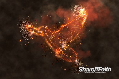 Fire Of The Spirit Pentecost Motion Background