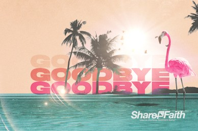 Summer Playlist Goodbye Motion Graphic