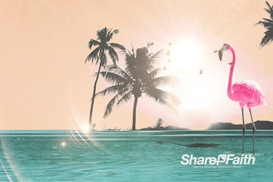 Summer Playlist Background Motion Graphic