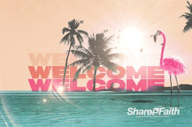 Summer Playlist Welcome Motion Graphic