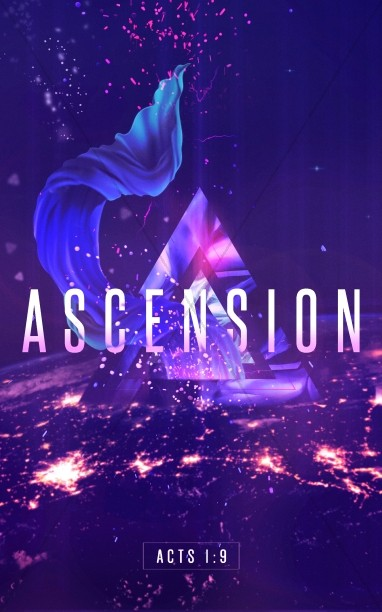 Ascension Day Service Bulletin Cover