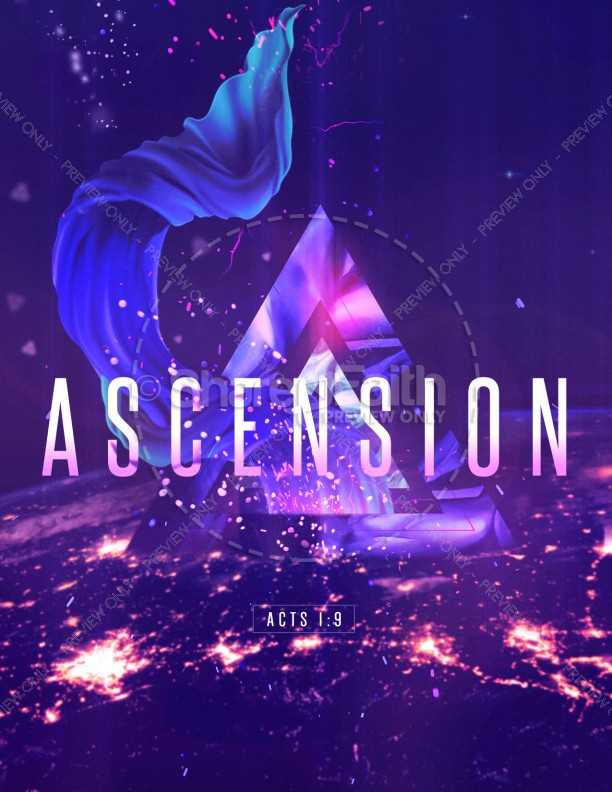 Ascension Day Service Flyer