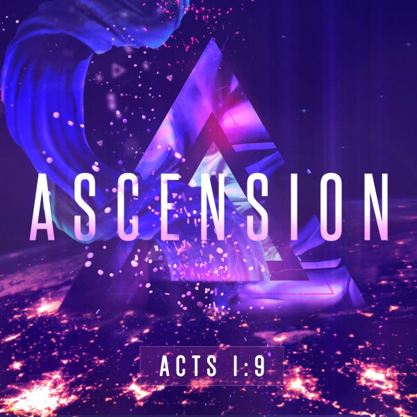 Ascension Day Service Social Media Graphic