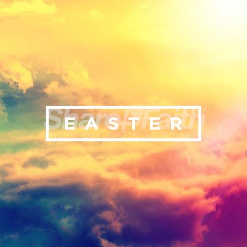 Easter Sunrise Church Social Graphic