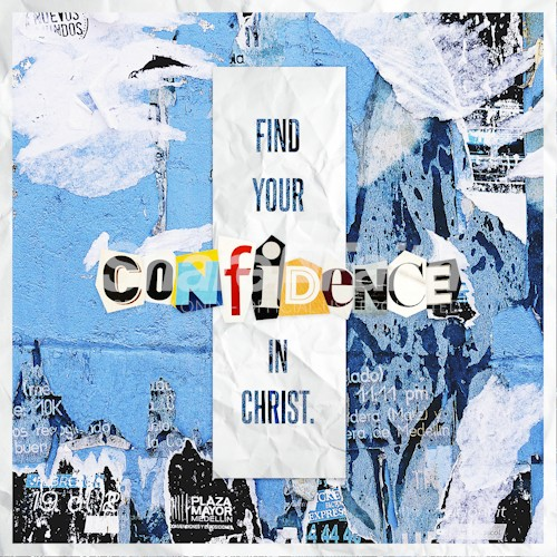 Find Your Confidence Church Social Graphic