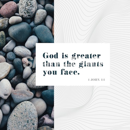God Is Greater Social Media Graphic