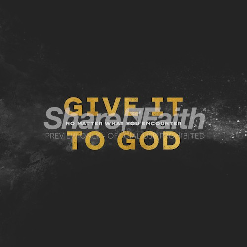 Give It To God Church Social Media Graphic