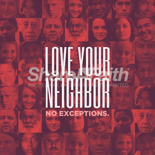 Love Your Neighbor Social Media Graphic