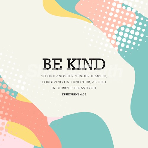 Be Kind Church Social Media Graphic
