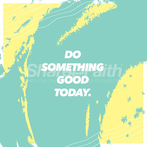Do Good Today Church Social Graphic