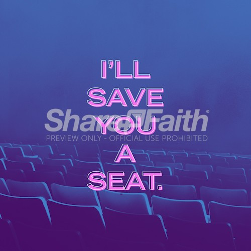 Save A Seat Social Media Graphic