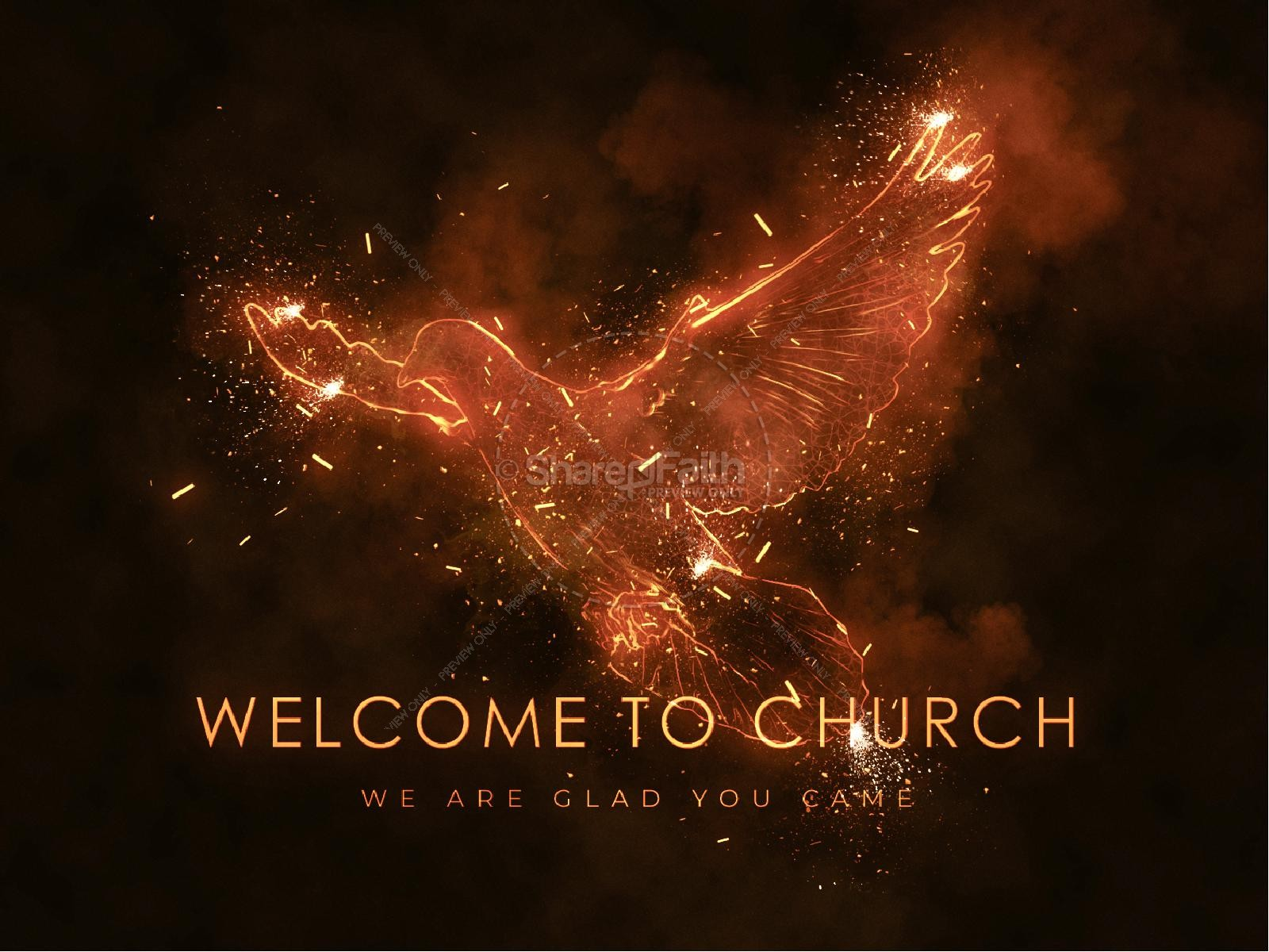 Fire Of The Spirit Pentecost Sunday Title Graphic