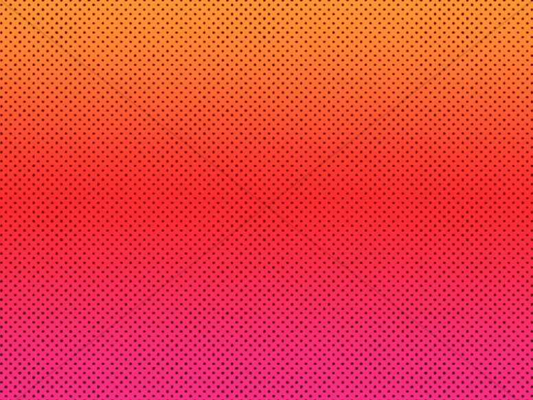 Sunset Dot Pattern Worship Background
