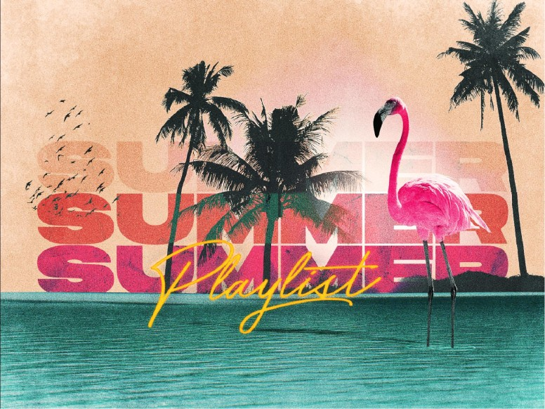 Summer Playlist Church Title Graphic