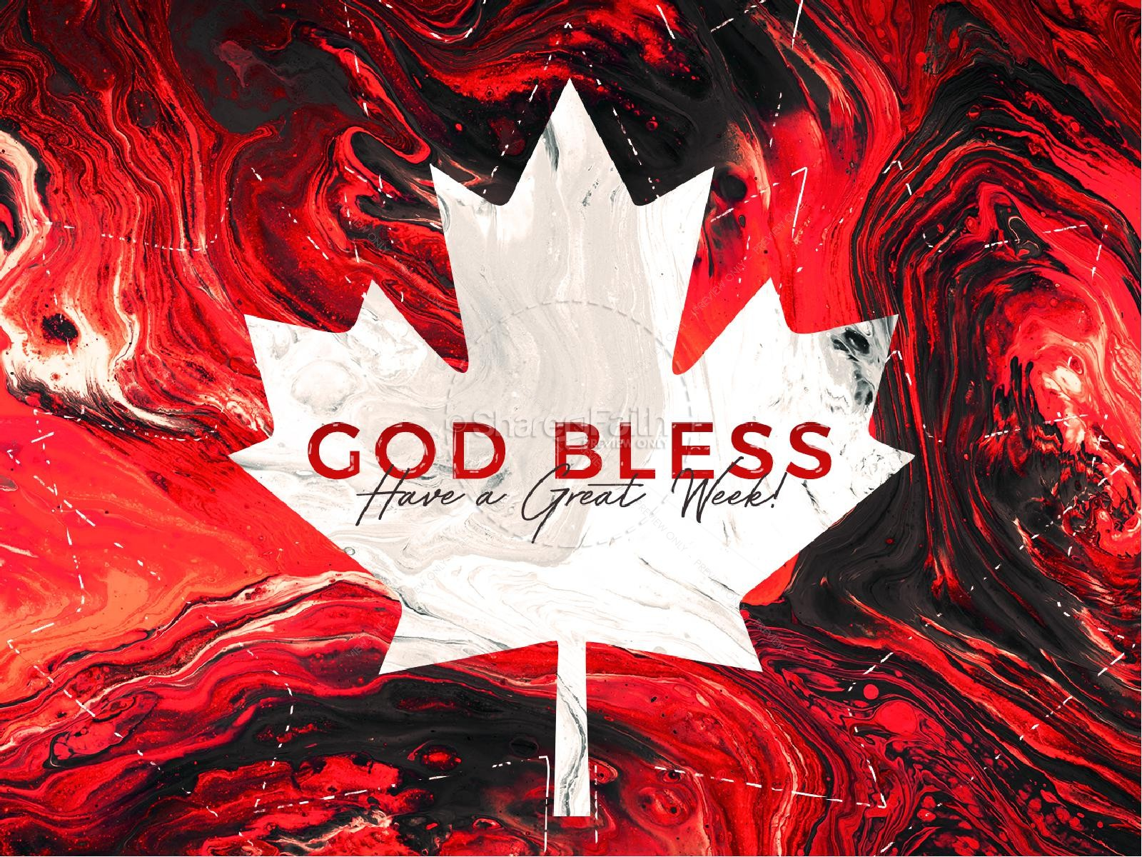 Canada Day Church Title Graphic